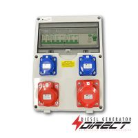 63 Amp Fitted Generator Distribution Board