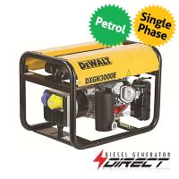 DeWALT DXGN3000E 2kW 2.5kVA Petrol Portable Generator with Honda Engine