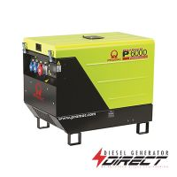 Pramac P6000 4.5kW / 5.6kVA 400/230V 3 Phase Diesel Portable Generator with Yanmar Engine