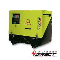 Pramac P6000s 4.5kW / 5.6kVA 400/230V 3 Phase Diesel Portable Generator with Yanmar Engine