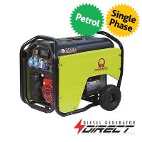 Pramac S8000 5.5kW 230V Only Electric Start Honda Engine Petrol Generator