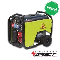 Pramac S8000 5.6kW 3 Phase Electric Start Honda Engine Petrol Generator