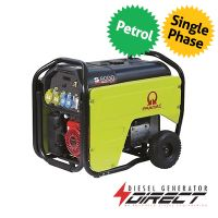 Pramac S8000 5.5kW 230/115V Electric Start Honda Engine Petrol Generator