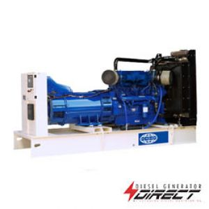 FG Wilson 550 open power diesel generator