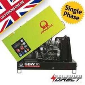 Pramac Perkins GBW10P 8 kVA Single Phase Silent Diesel Genset