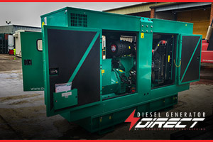 diesel generator for London hotel, after the recent power