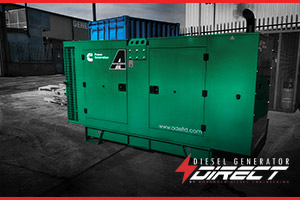 cummins diesel generator for cosmetic power
