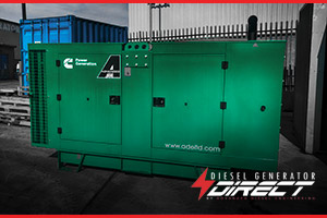 diesel generator for costmetic power