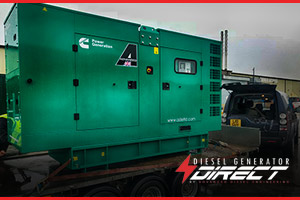 130 kVA silent generator for London Hotel