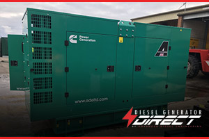 Electric generator for London Hotel