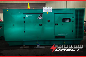 500 kVA diesel generators for the MOD