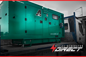 cement works diesel generator