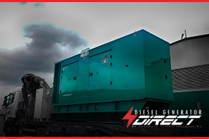 contract sales diesel generator