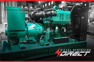 diesel generator for a bank power