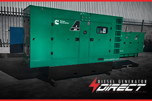 diesel generator for tax power backup
