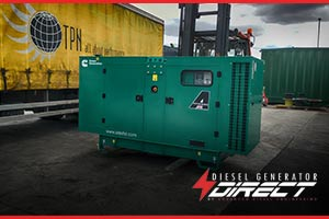 diesel generator for pumping ale