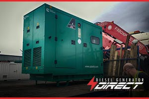 diesel gensets for ice cream
