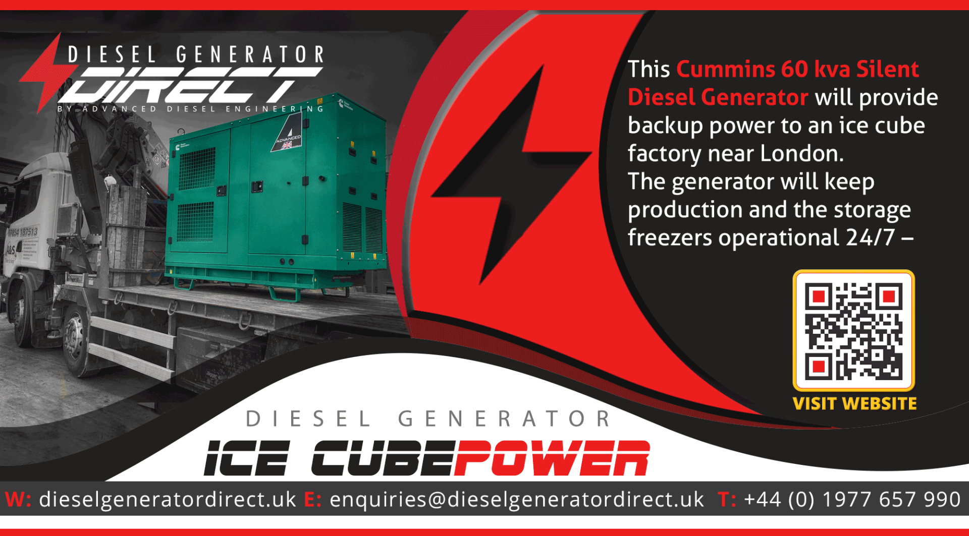 gensets for ice power
