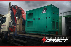 diesel generator to power ice