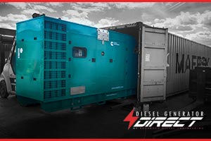 diesel generator for export