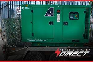 diesel gensets for machinery power
