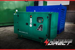 silent generator for rail power