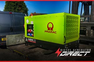 construction site genset