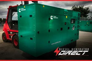 silent generator warehouse power