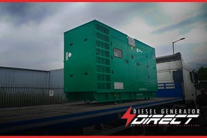diesel generator to be used for powering a potato drying