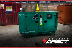 diesel generator to be used at a wedding events venue