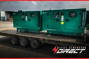 diesel generator for wedding events venue backup power