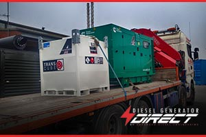 standby diesel generator for a farm