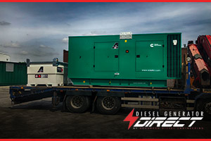 standby diesel generator for air traffic control