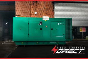 diesel generator to be used for construction