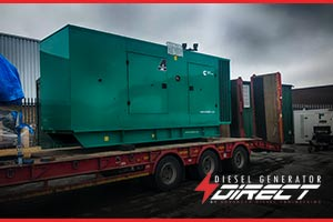diesel generator for brickwork backup power