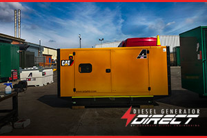 Caterpillar diesel generator for standby farm power