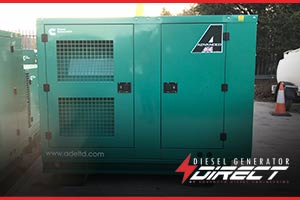 This 50Kva acoustic Cummins diesel generator will provide prime power to a mobile  sealant mixing machine used to seal newly built road surfaces on bridges.