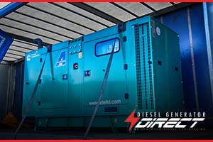 diesel generator to be used at kids soft play house