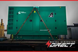 Stadium power provided by this Cummins Diesel Generator