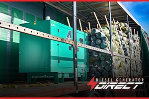 35kVA Cummins Power Generation diesel generator for christmas trees