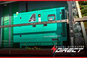 35kVA C38D5 Cummins Diesel Generator for Christmas Tree Power