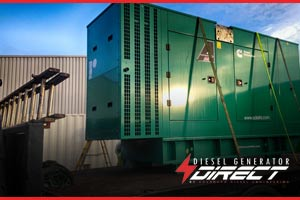 chemical warehouse diesel generators london