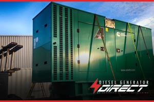 chemical warehouse 200kVA diesel generator london
