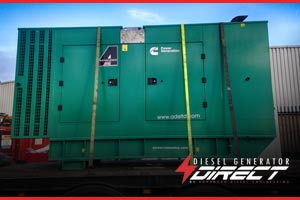 cummins 200 kVA for chemical warehouse