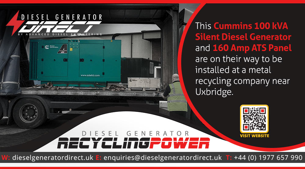 diesel generator for london power cut backup