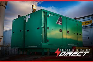 60kVA Cummins Power Generation diesel generator for concrete pumping