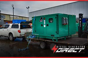 double the power diesel generator