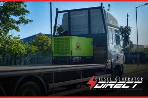 Highway Maintenance diesel generators