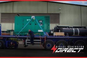 Construction diesel generators