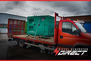 tree surgeon diesel generator